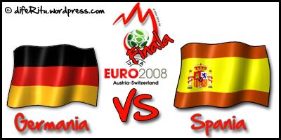Finalistele Euro2008